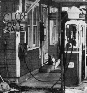 <span class='credit'>Torch Archive Photo: 04/14/1972</span><span class='description'>Gas Station: This gas station was demolished to make way for the expansion of M20.</span>