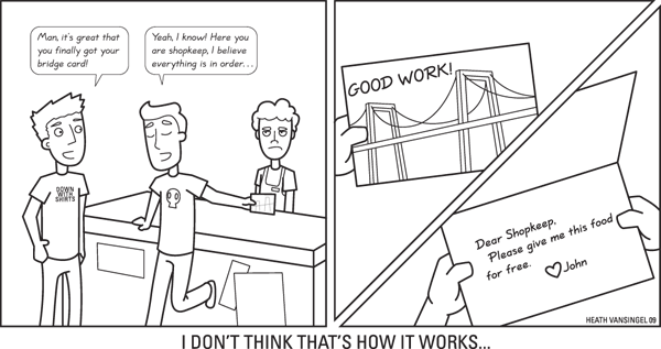 Cartoon: I Don't Think That's How It Works