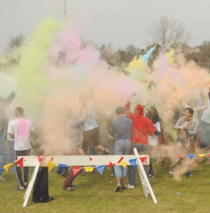 The colorful Holi event last year, was a big hit.