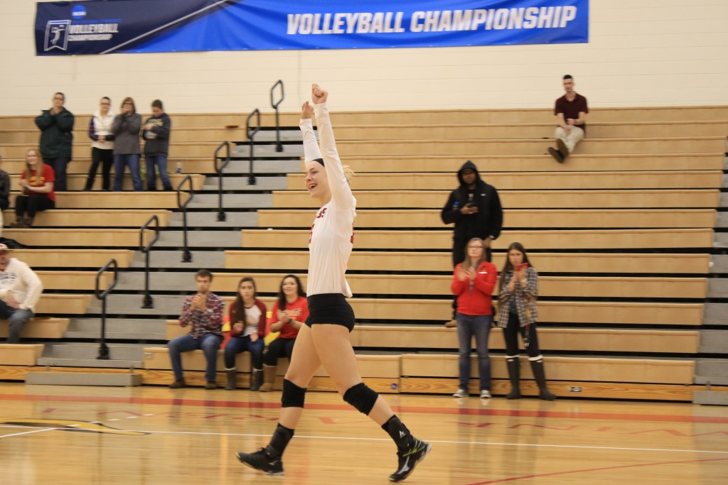 Senior libero Danielle Dowd was just one of four senior volleyball players to end their career following last season. The team will be looking to fill the shoes of four senior starters next season.