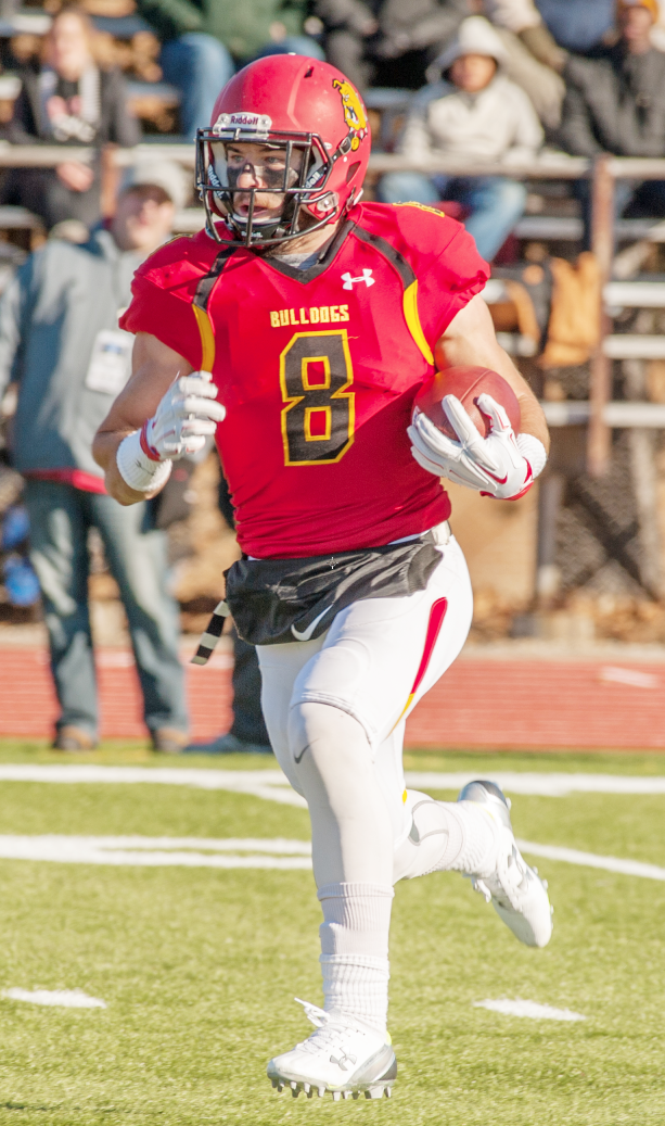 Former Ferris State wide receiver Jacob Lampman worked his way onto the NFL's New Orleans Saints' active roster and recently got a chance to take the field during the last two games on special teams.